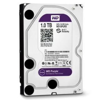 Ổ cứng HDD 1000G(1TB) Western Purple ( Tím ) , Chuyên dùng cho camera , lưu trữ dữ liệu - Bảo hành 24 tháng 1 đổi 1 thumbnail