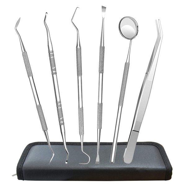 Bộ Dụng Cụ Nha Khoa Làm Sạch Cao Răng (6 Cái)
