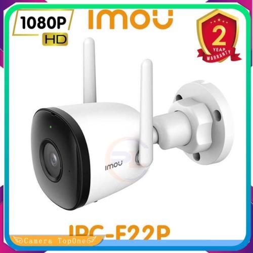 [NHÀ PHÂN PHỐI, BH 2 NĂM, FREESHIP 20K]DAHUA CAMERA IPC WIFI IMOU F22P - NGOÀI TRỜI FULL HD 1080P -Tầm nhìn ban đêm-Angten đôi và MIMO - Chống nước IP67 - Bảo hành chính hãng 2 năm