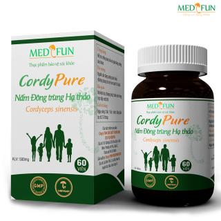 [HCM]Đông trùng Hạ thảo CordyPure 60 viên - Medifun - Tăng cường miễn dịch sức đề kháng cho cơ thể - Chủng Cordyceps sinensis Tây Tạng - ViviNgon thumbnail