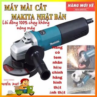 Máy mài,cắt 1 tấc Makita New - Dụng Cụ Makita Chính Hãng. NEW MA 9556B cao cấp với lưỡi cắt chắc chắn, động cơ máy khỏe, điện áp ổn định,công suất lớn 840w, hiệu quả làm việc cao. An toàn khi sử dụng thumbnail