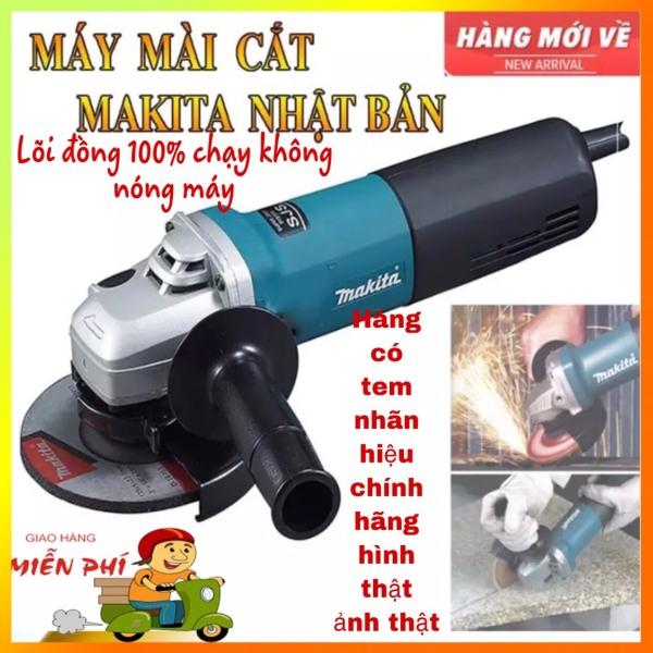 Máy Mài Cắt Makita - Máy Mài makita Nhật Bản Lõi Đồng 100% - Công Tắc Gạt Đuôi Tiện Lợi Sử Dụng Mua máy mài giá tốt có bảo hành