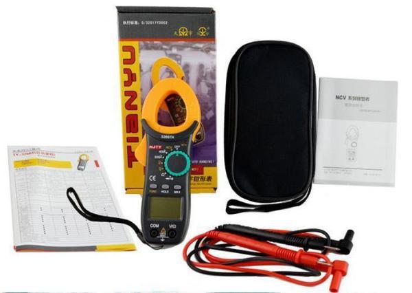 Ampe kìm kẹp mét NJTY 3266TA bỏ túi, công cụ sửa chữa điện , điện lạnh có đo thông mạch và kiểm tra dây đứt