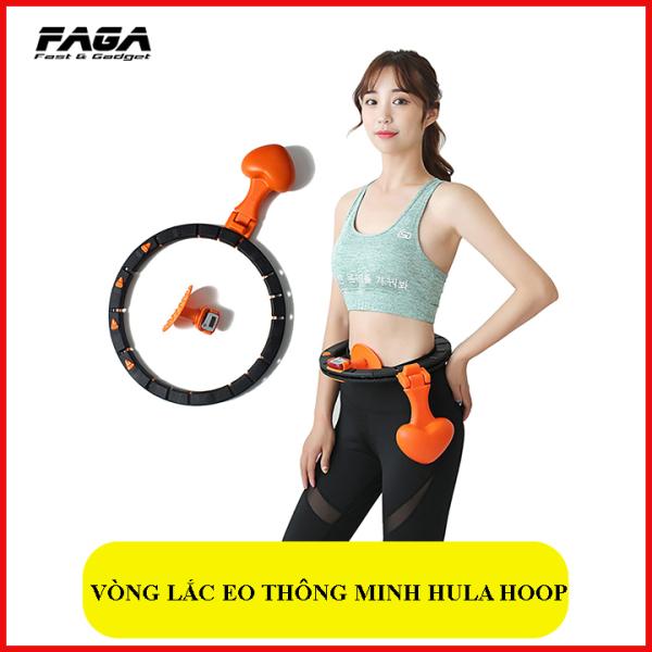 VÒNG LẮC EO THÔNG MINH HULA HOOP THẾ HỆ MỚI - Giảm mỡ bụng, điều hòa nhịp tim, massage cơ bụng, tiện lợi sử dụng