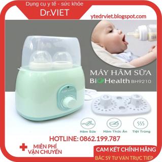 Máy hâm sữa Biohealth BH9210-Tiệt trùng với nhiều chức năng thumbnail