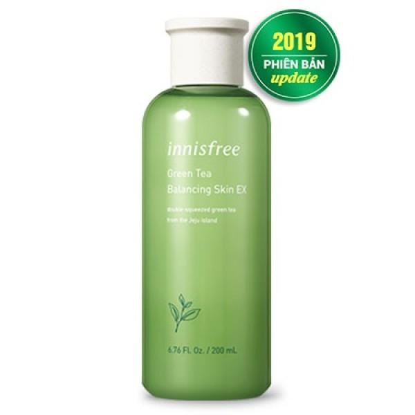 Nước Hoa Hồng Đưỡng trắng da Innisfree Trà Xanh Green Tea Balancing Skin EX 200ml Frorece86 Store