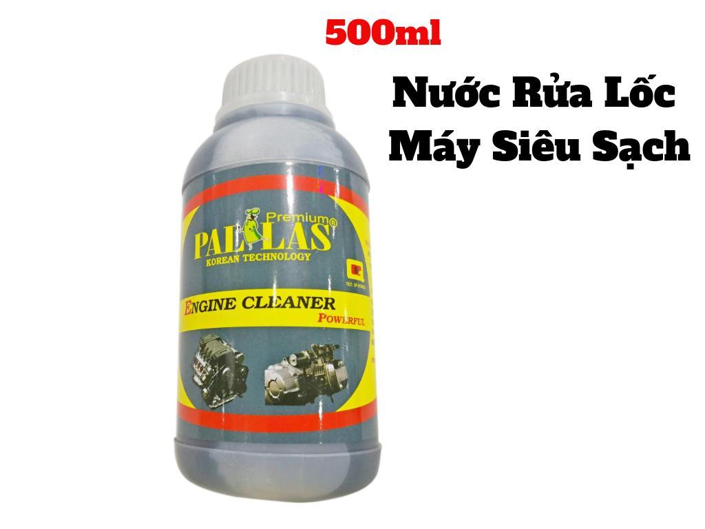 Hot Deal Khi Mua Dung Dịch Tẩy Lốc Máy Siêu Sạch Pallas 500ml