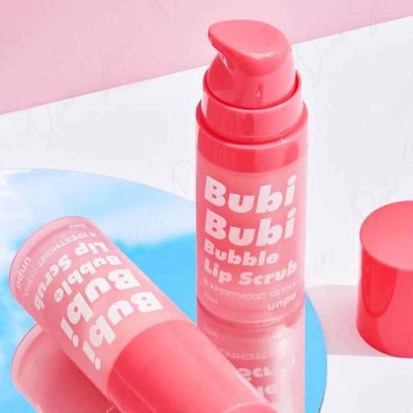 [Mẫu Mới 2021] Bubi Bubi Lip Son Dưỡng môi tẩy tế bào chết môi - tẩy da chết môi - gel làm mềm và hồng môi By Unpa