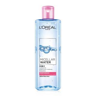 Nước tẩy trang dưỡng ẩm L Oreal Paris Micellar Water 3 in1 95ml 400ml thumbnail