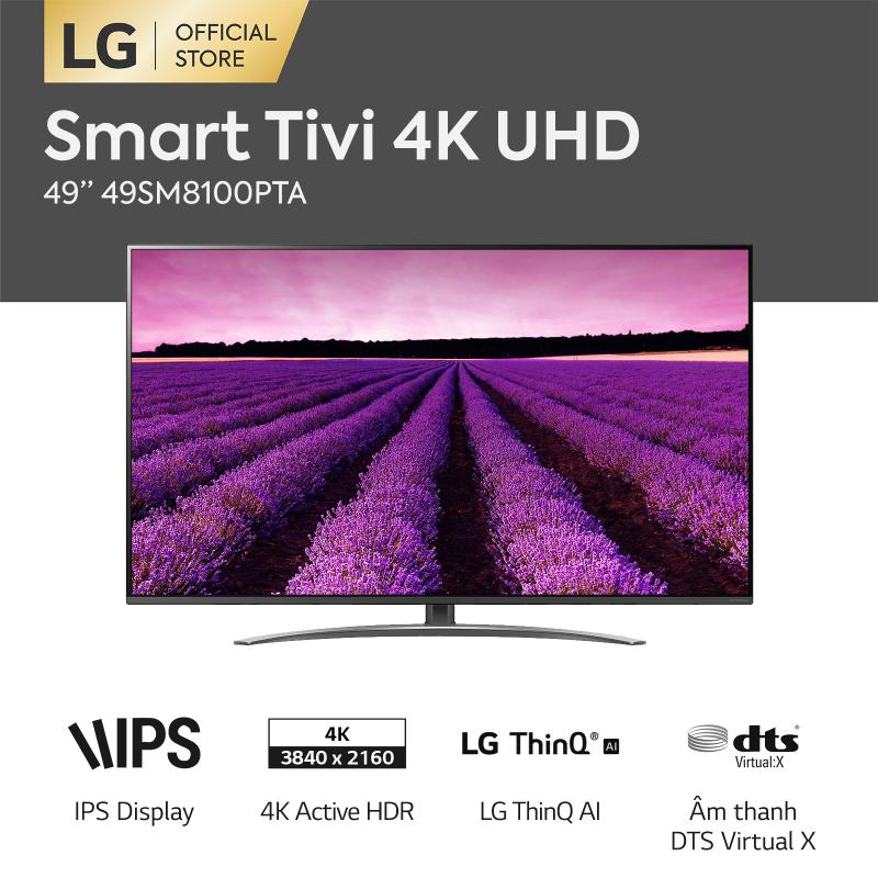 Bảng giá [FREESHIP 500K TOÀN QUỐC] Smart TV LG 49inch 4K UHD - Model 49SM8100PTA (2019) - Hãng phân phối chính thức