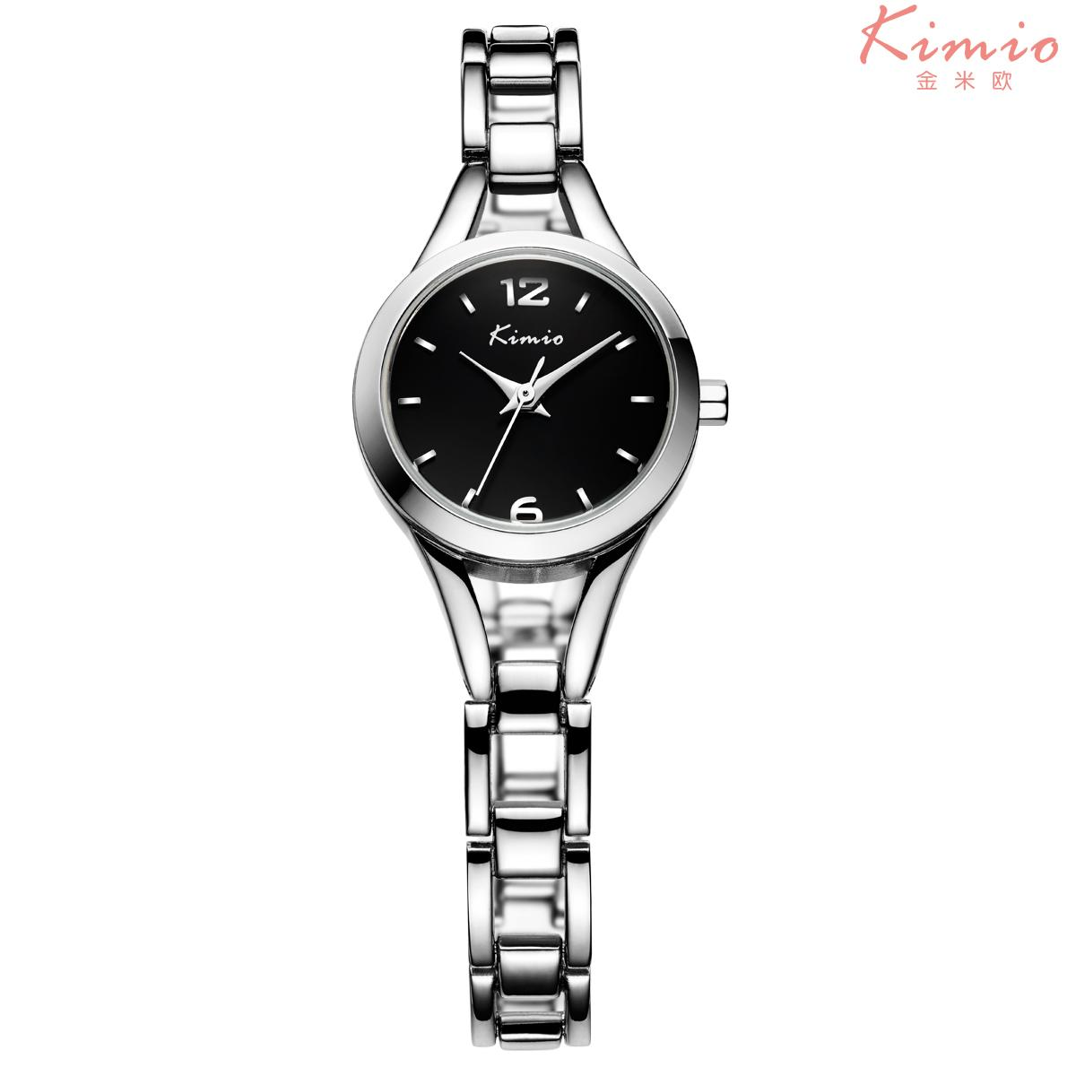Nơi bán Đồng hồ nữ dây thép không gỉ Kimio KW6106S-S02 mặt đen