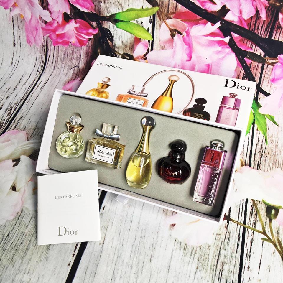Combo 5 chai nước hoa mini mùi thơm quyến rũ chính hãng