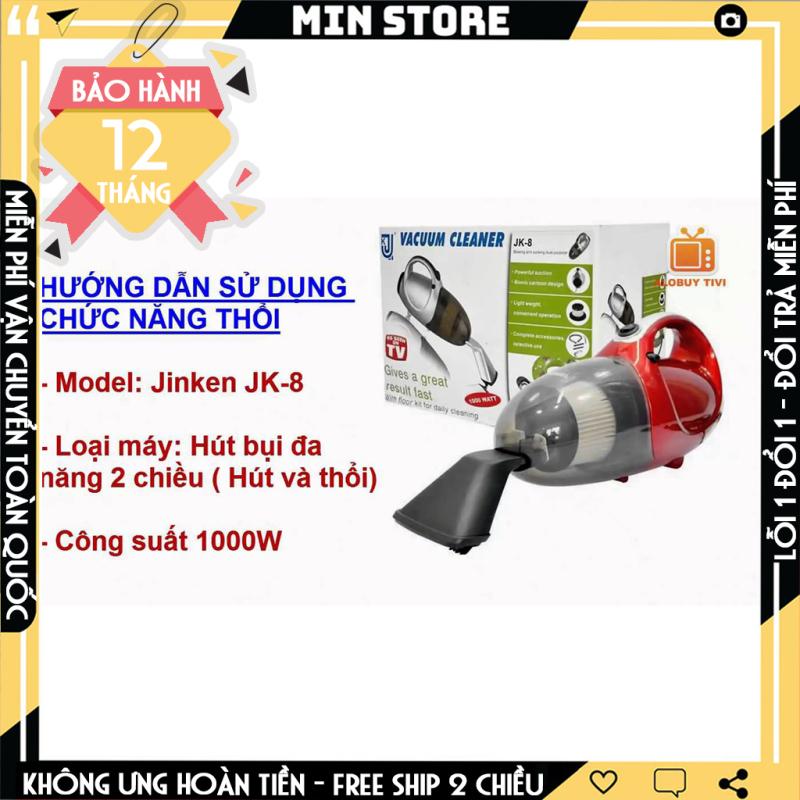 Máy hút bụi đa năng 2 chiều Vacuum Cleaner JK8 (Đỏ)