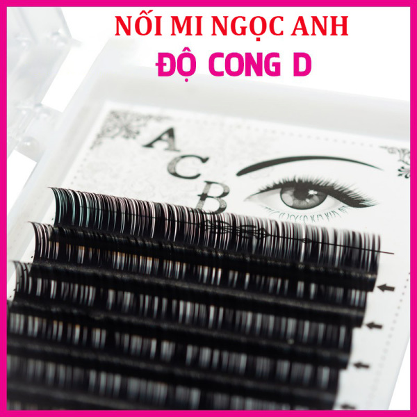 Mi khay ACB độ cong D, chất mi silk Hàn, mềm dễ bắt keo, dùng để nối volume, classic