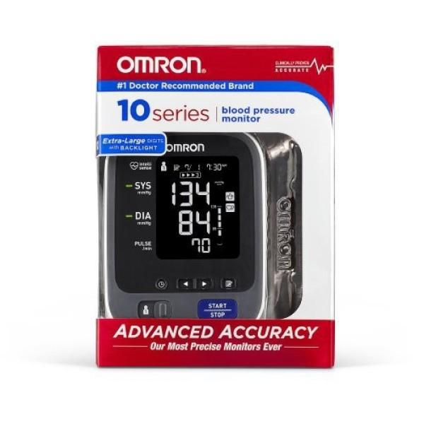 Phiên Bản Mới  Máy Đo Huyết Áp Omron Series 10 Plus Bluetooth (Đo Bắp Tay/ Đo Cổ Tay) - Đo Bắp Tay (Arm) bán chạy