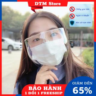 Kính chống giọt bắn ôm mặt, mắt kính chắn giọt bắn trong cao cấp chống hơi nước không sợ rơi khi đeo DTM Store thumbnail