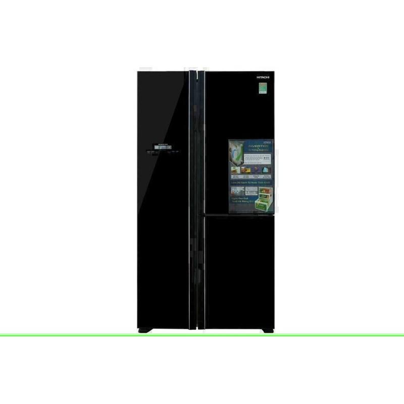 Tủ lạnh Hitachi Inverter 600 lít R-FM800PGV2 GBK (HÀNG NEW BẢO HÀNH CHÍNH HÃNG 1 NĂM)