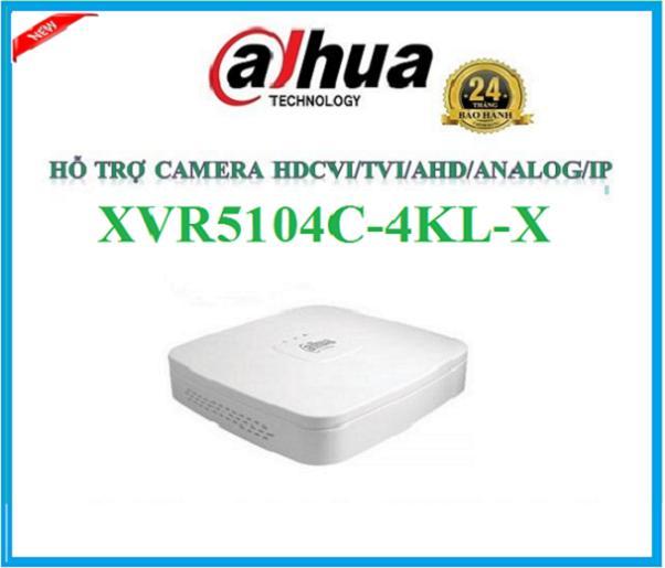 Đầu ghi hình 4 kênh,XVR5104C-4KL-X hỗ trợ camera HDCVI/Analog/IP/TVI/AHD