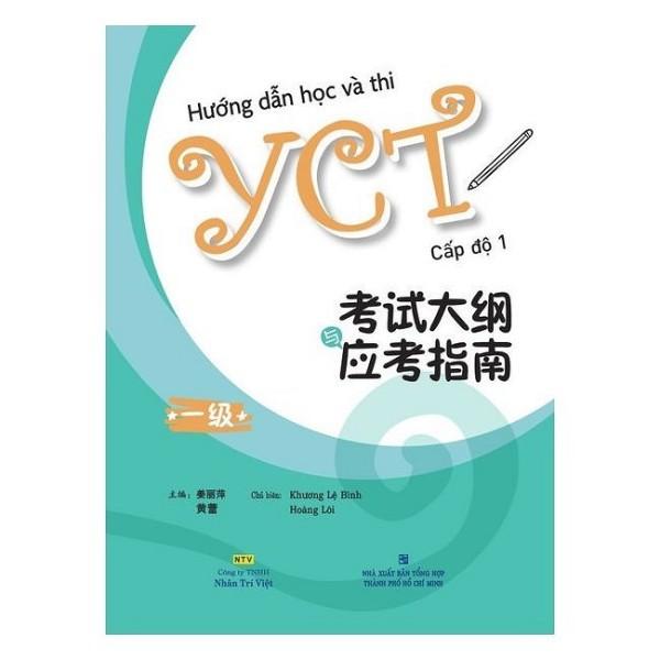 Sách - Hướng Dẫn Học Và Thi Yct Cấp Độ 1 ( Bìa Mềm )