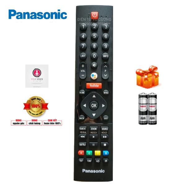 Bảng giá Điều Khiển Ti Vi Panasonic có Voice