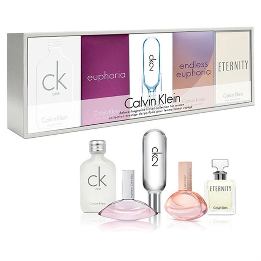 Bộ 5 chai nước hoa mini Calvin Klein