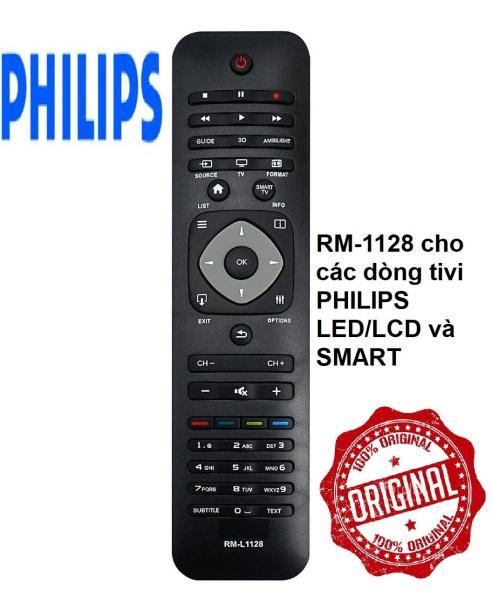Bảng giá Remote điều khiển tivi PHILIPS RM-L1128 cho tất cả các dòng tivi PHILIPS