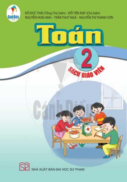 Toán Lớp 2 (Sách giáo viên thuộc bộ sách Cánh Diều) Theo chương trình GDPT mới