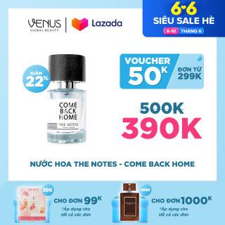 Nước Hoa Venus Perfume House - Come Back Home - Vũ Cát Tường