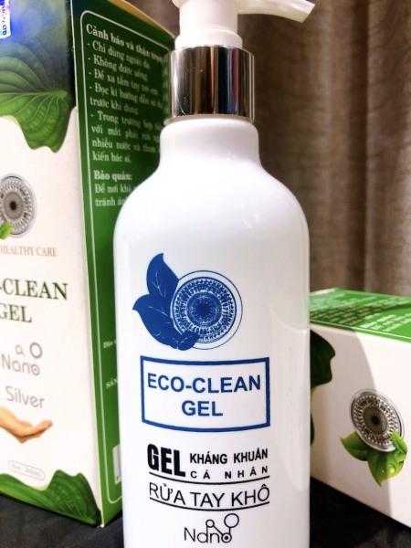 Gel rửa tay khô diệt khuẩn ECO Healthy Care