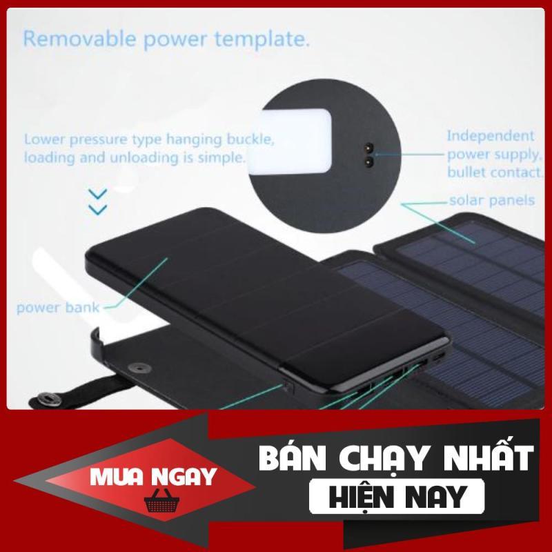 Pin năng lượng mặt trời (4 tấm) + Pin dự phòng