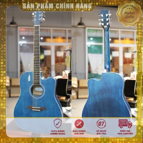 Đàn Guitar Acousitc Rosen R135 Gỗ Thịt Phiên Bản 2021/2020 chính hãng - Tặng Full Phụ Kiện