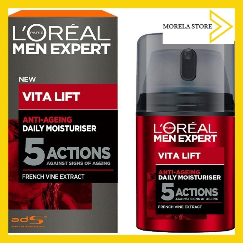 Kem chống lão hóa 5 tác động LOréal Men Expert Vita Lift 5 Anti Ageing Moisturiser, 50 ml giá rẻ