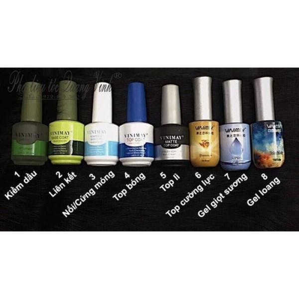 base gel, top gel, top cường lực, phá gel, kiềm dầu vinimay giá rẻ