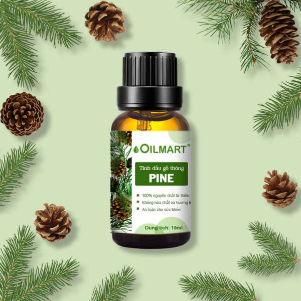 Tinh Dầu Thiên Nhiên Gỗ Thông Oilmart Pine Essential Oil