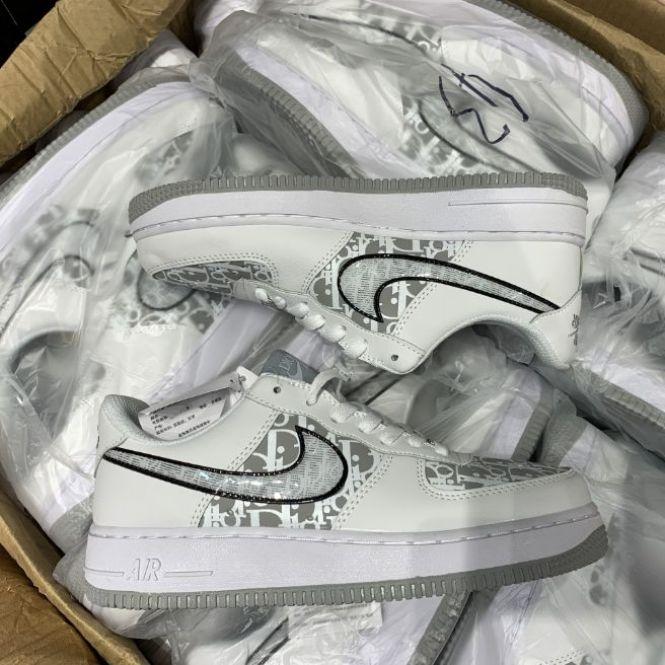 (freeship + Full Box Bill) Air Force 1 Dior giá rẻ