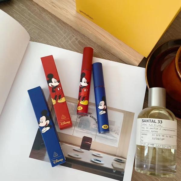 🐭 Son Kem Lì MICKEY Xanh Đỏ lipstick lâu trôi mềm mịn căng bóng dưỡng môi son môi nội địa chính hãng sỉ rẻ 🐭