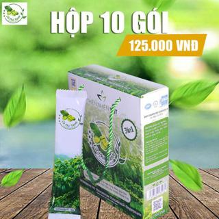Cà phê xanh kháng mỡ giảm cân hiệu quả tại nhà chăm sóc vóc dáng Thiên Nhiên Việt (hộp 10 gói) thumbnail