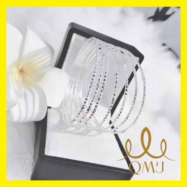 Bộ đẹp QMJ XIMEN THIÊN SỨ bản mỏng bạc 925 chuẩn cao cấp - siêu sáng[CHUẨN BẠC] QB019