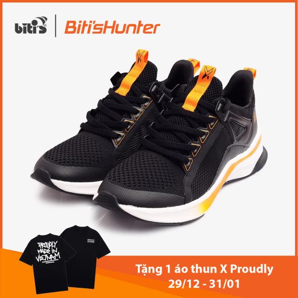 [TẶNG 1 ÁO THUN HUNTER X PROUDLY TỪ 29/12 - 31/01] Giày Thể Thao Nữ Bitis Hunter X Festive Spice Pumpkin 2k20 DSWH03500DEN (Đen) giá rẻ