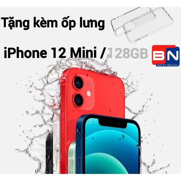 [HCM][Trả góp 0%]Combo Điện thoại Apple iPhone 12 MINI bản 128GB - Hàng new 100% chưa kích hoạt + Ốp lưng silicon chống va đập