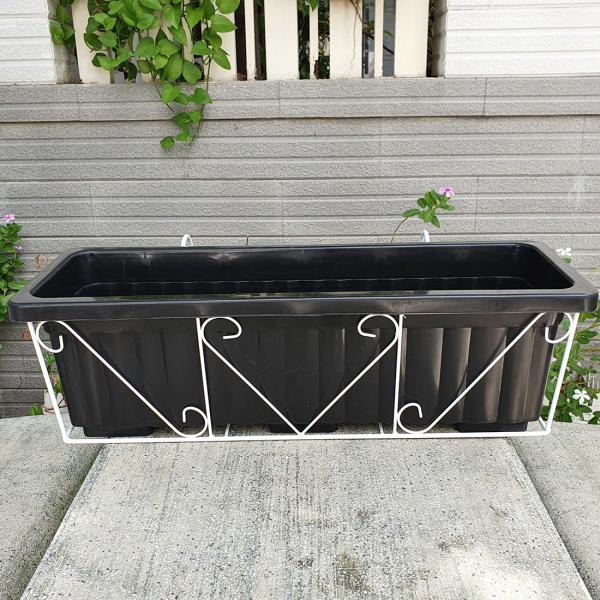 02 bộ khung treo ban công trồng hoa, trồng rau dài 62cm -  Tiết kiệm diện tích, tận dụng được nhiều vị trí, tạo mảng xanh cho không gian sống