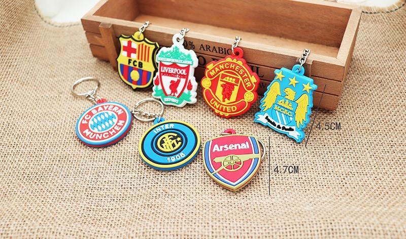 Móc Khóa Manchester.united Arsenal Liverpool Real Madrid, Barcelon Chelsea Juventus PSG Giá Siêu Cạnh Tranh