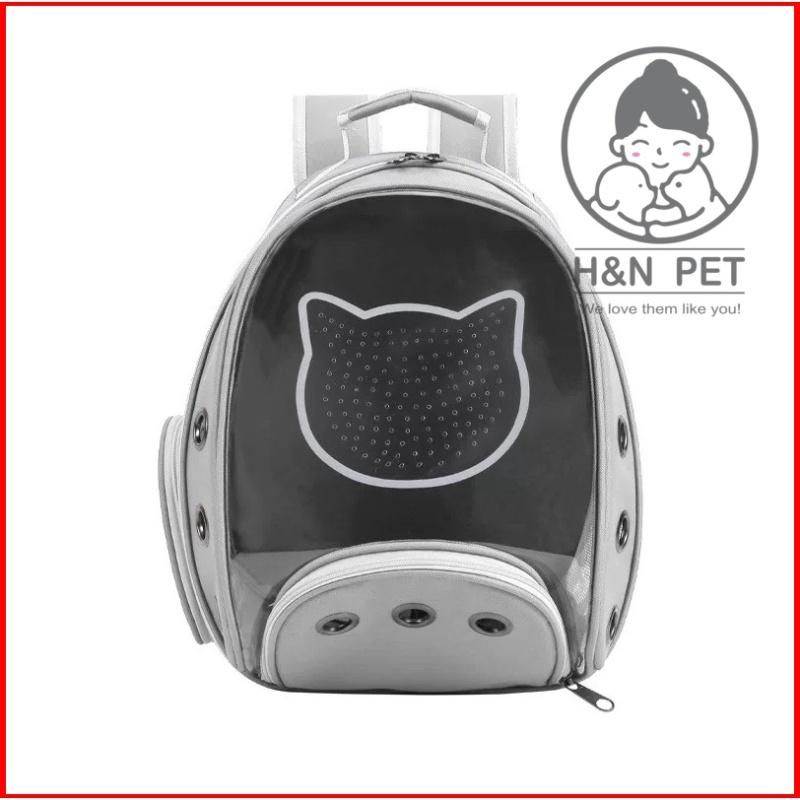 [Giá Hủy Diệt] Balo Phi Hành Gia Loại 1 Trong Suốt Chó Mèo H&N PET