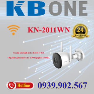 Camera IP hồng ngoại không dây 2.0 Megapixel KBVISION KBONE KN-2011WN thumbnail