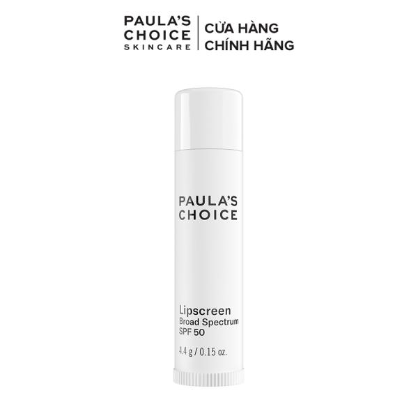 Son dưỡng môi mềm mịn chống nẻ SPF 50 Paula's Choice LipScreen SPF 50 4.4g 2560 cao cấp