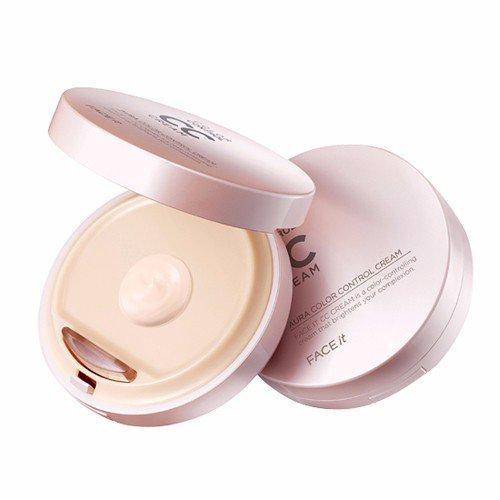 Kem Trang Điểm Đa Năng Thefaceshop Face It Aura Color Control Cream Spf30 Pa++ tốt nhất