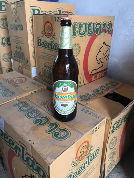 1 thùng bia lào 640ml ( 12 chai )