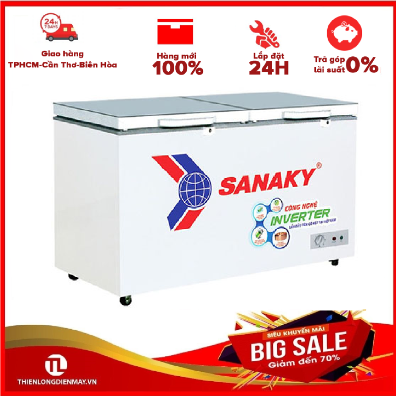 TỦ ĐÔNG INVERTER SANAKY 305 LÍT VH-4099A4K