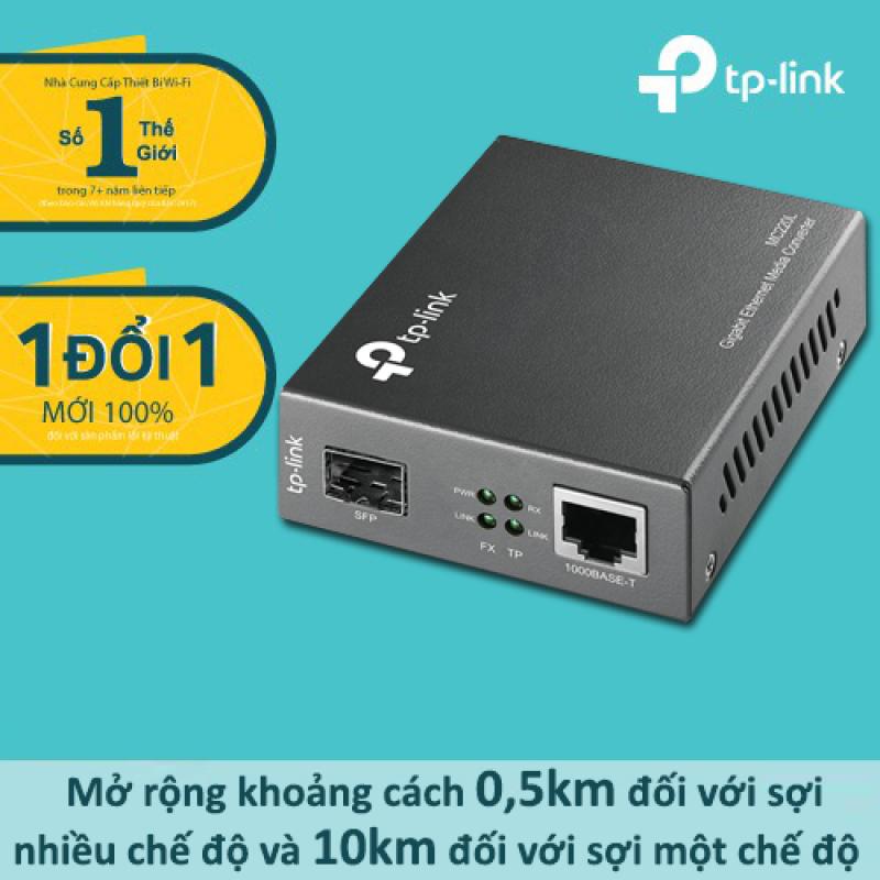 Bảng giá Bộ chuyển đổi quang điện SFP Gigabit TP-Link MC220L - Hàng phân phối chính hãng Phong Vũ