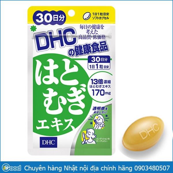 Viên uống trắng da DHC Coix Adlay Extract Nhật Bản - 20 ngày giá rẻ